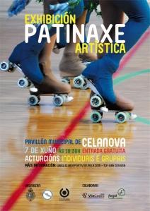 cartel_patinaje_ourela_celanova